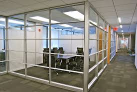 glass office wall. cooper modular office glass wall systems space solutions services