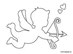 a3432bcedc96f0bfbf6496f31fcdc4e3 cupid arrow pattern use the printable outline for crafts on arrow templates cute big