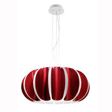 red pendant lighting. blomma red pendant light lighting e