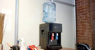 countertop water cooler dispenser this water cooler has both hot and cold water spouts and has