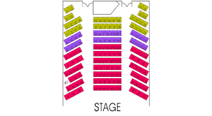 Newmark Theater Portland Seating Chart The Sanctuary Seating Chart Theatre In Portland
