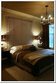 curtain headboard saves on expense