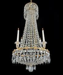 fine antique regency period ormolu and cut glass chandelier