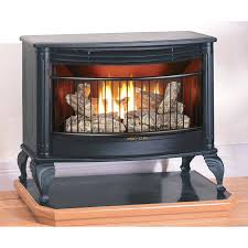 propane fireplace logs with remote log placement