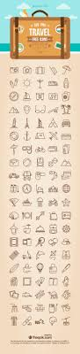 free travel icons svg png formats basic icons flat icons 1000