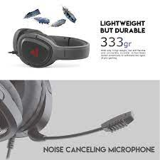 Tai nghe Gaming chụp tai có dây Fantech VIBE MH85 chuyên Game Console PS4,  PS5... Jack 3.5mm kèm dây chuyển dùng cho PC Mic chống ồn - Hàng chính hãng  - Tai