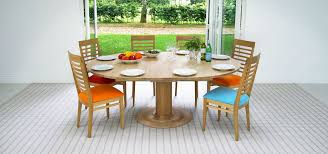 discus round extending table