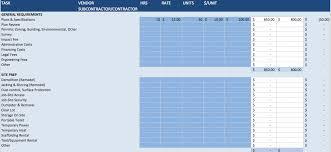 Excel Templates Spreadsheet Building Construction Estimate Spreadsheet Excel Download Top Form