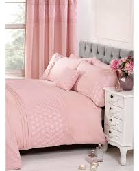 everdean fl blush pink super king duvet cover and pillowcase set zoom