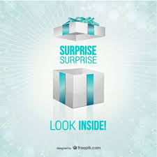 Surprise Images Free Gift Box Surprise Template Vector Free Vector Download In Ai