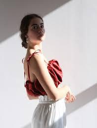 Alicia Silk Top Raspberry   HvG