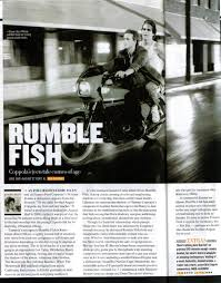 the incredible suit other shit rumble fish dvd review