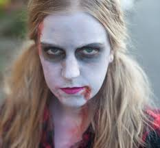 easy makeup for zombies