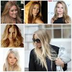 different types of blonde hair color
