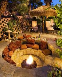 Small Picture The 25 best Fire pit seating ideas on Pinterest Backyard