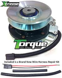 pto clutch for john deere electric am136787 w wire harness repair pto blade clutch for john deere am137323 electric w wire repair kit