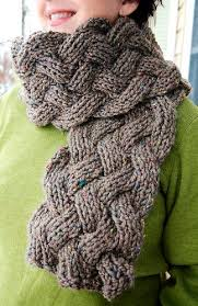 Cable Knit Scarf Pattern Interesting Cozy Scarf Knitting Patterns In The Loop Knitting