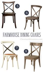 best sources to x back farmhouse dining chairs