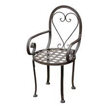 children s metal garden chair