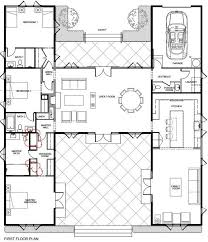 awesome h shaped floor plan home house floor plans