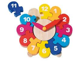 Часы-<b>пазл</b> II, <b>GOKI</b> | <b>Пазлы</b>, <b>Деревянные игрушки</b>, Развивающие ...