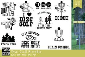 Pngtree offers disc golf png and vector images, as well as transparant background disc golf clipart images and psd files. Disc Golf Svg Cut Files For Crafters 154444 Cut Files Design Bundles