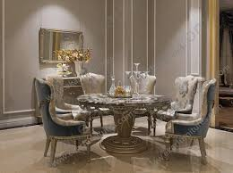 view larger wooden dining table and chairs luxury dining room sets