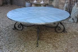 wonderful very large round garden table