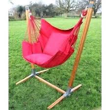 hanging hammock chair with stand bamboo wood panda diy tutorial cha