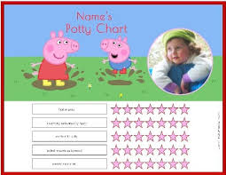 Peppa Pig Potty Training Reward Chart Printable Free Printable Peppa Pig Potty Training Chart In Five