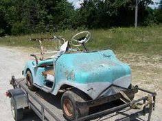 pargo golf cart late 1960's one of a kind estate find vintage Pargo Golf Cart Wiring Diagram 1981 vintage pargo and three wheel ez go golf carts rea 36V Golf Cart Wiring Diagram