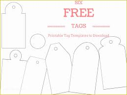 Free Printable Wedding Thank You Tags Templates Of 6 Free