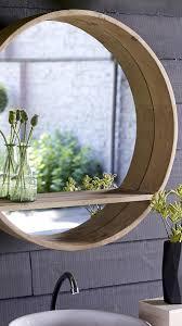 Moderner Runder Spiegel Mit Bullaugen Design Dekor In 2019 Wc