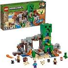LEGO Minecraft The Creeper Mine 21155 Building Kit, New 2019 (834 Pieces)