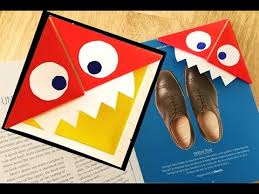 paper monster bookmarks how to make bookmarks inspired by red ted art most por videos