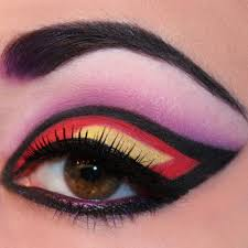 he world s best eye makeup for party glittered eye brow makeup