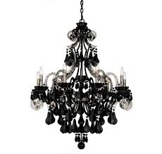black and white chandelier crystal purple real chandeliers large size of funky unique modern design kitchen table french dining classic style styles