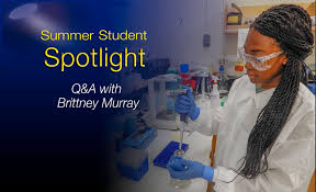 Meet Brittney Murray: future microbiologist | Lawrence Livermore ...