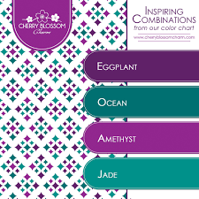 Amethyst Color Chart Color Combinations Charming Printables