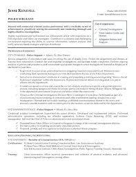 Sergeant Resume Examples
