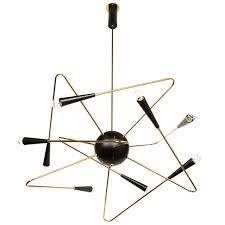 rewire custom orbital chandelier for