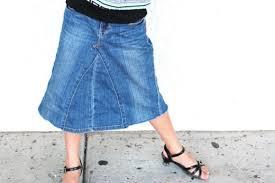 Make Pants How To Make A Diy Jean Skirt Out Of Denim Pants Creative