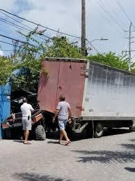 Delivery Truck Smashes Polaris Golf Cart The San Pedro Sun