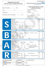 Image Result For Sbar Handover Paramedic Pinterest Sbar And