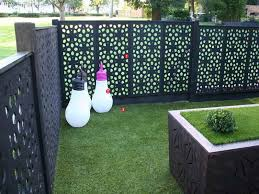 Outdoor : Black Outdoor Privacy Screen Ideas Outdoor Privacy Screen Ideas  Decorative Panels Landscaping For Privacy Backyard Privacy Ideas as well  as ...
