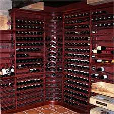 wine cellar furniture. Achieve The Look Of Deep Auburns, Maroons, And Dark Reds. Our Mahogany Finish Can Give Appearance Many Colors Depending On Lighting Situation. Wine Cellar Furniture