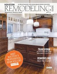 Kitchen Remodeling Houston Tx Featured In Houston Remodeling Guide By Ghbagreater Houston