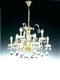 swag chandeliers