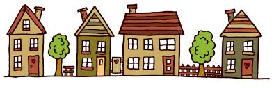 Image result for street of houses clip art