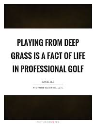 Golf And Life Quotes Classy Playing From Deep Grass Is A Fact Of Life In Professional Golf